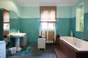 婚房卫生间装修效果图214