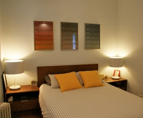 120平二居卧室装修效果图片