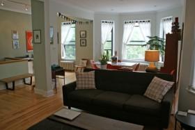 120平公寓简约装修效果图片