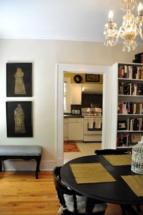 三居室简洁装修效果图318