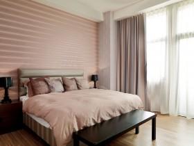 一居室卧室背景墙装修效果图94