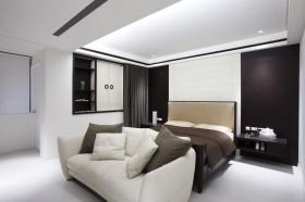 简约风格卧室背景墙装修效果图93