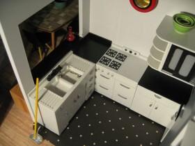 中户型橱柜装修效果图232