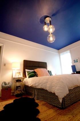 简洁舒适卧室装修效果图310