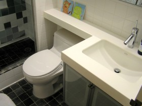 卫生间洗手台装修效果图206