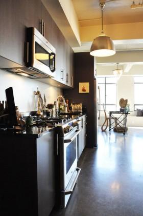 三居室厨房装修效果图294