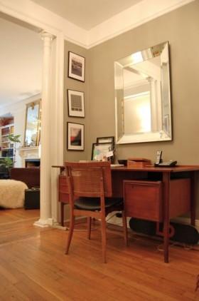 书桌背景墙装修效果图165