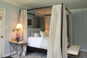 奢华卧室床装修效果图442