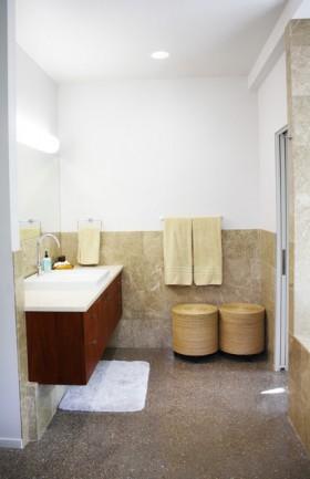 卫生间洗手台装修效果图148