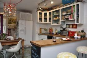 简洁舒适厨房装修效果图280