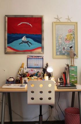 书桌装修效果图154