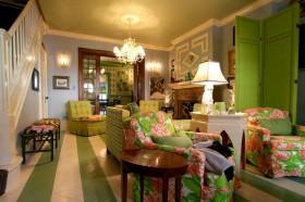 110平客厅家居装修效果图