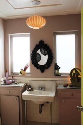 卫生间洗手台装修效果图176