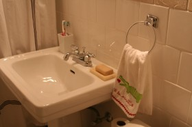60平公寓洗手台装修效果图140