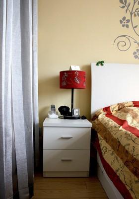 婚房卧室床头柜装修效果图160