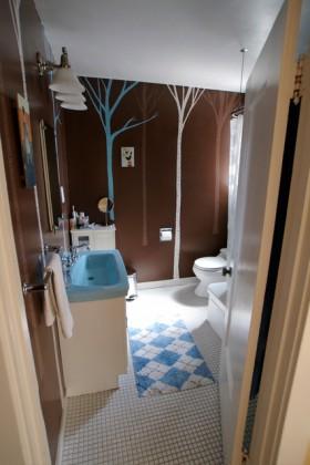 卫生间洗手台装修效果图165