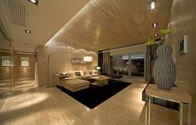 150平家居客厅沙发装修效果图55