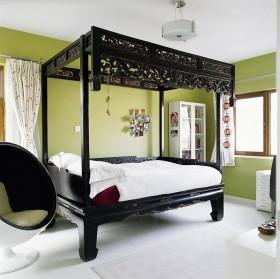 中式风格老人房装修效果图