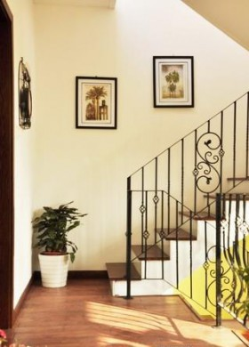 老房楼梯装修效果图44