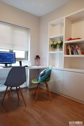 loft风格书房装修效果图