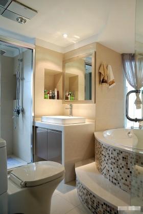 loft风格洗手台装修效果图