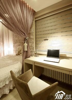 书房床暖色调装修效果图13