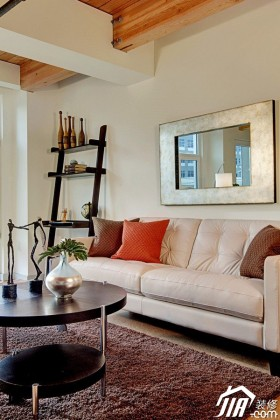 公寓80平米以下沙发背景墙装修效果图大全2015图片
