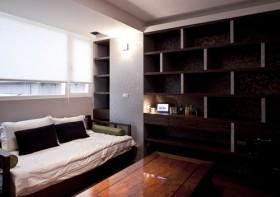 二居室书架装修效果图32