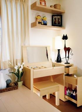 120平米梳妆台卧室装修效果图64