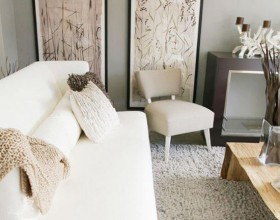 低调淡雅实用家 100平简约二居室