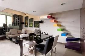 loft风格楼梯装修效果图