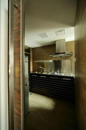 复式厨房装修效果图484