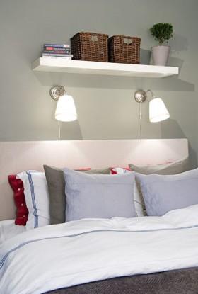 一居室床头软包装修效果图35