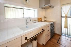 40平白色厨房装修效果图136