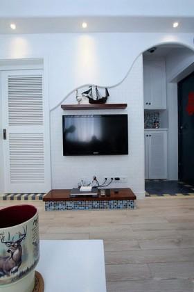 婚房电视背景墙装修效果图132