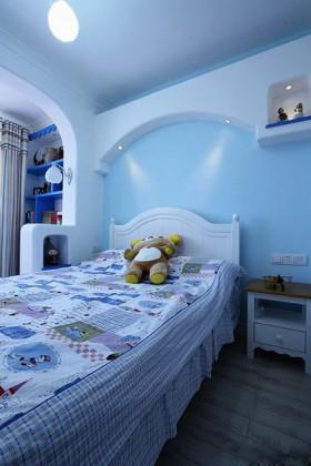 婚房卧室背景墙装修效果图154