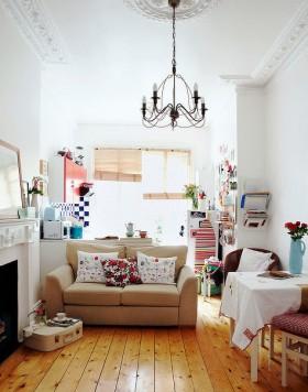 混搭白领家居设计 沙发装修效果图1005