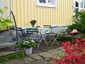 花样壁纸 40平北欧风田园花园