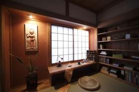 日式风格书房装修效果图174