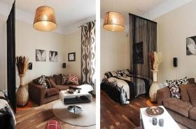 60平小户型卧室装修效果图622