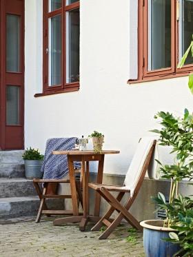 简单+艺术 49平北欧风格单身公寓 庭院装修效果图