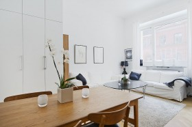 40平开放式北欧公寓效果图452
