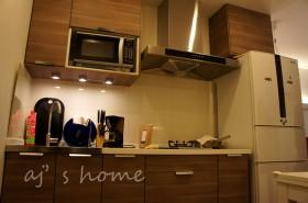 中户型厨房装修效果图309