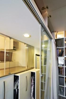 40平规划三卧室 重叠手法空间大利用