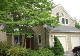 美国的小生活 110平复式小公寓 庭院装修效果图