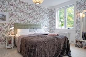 北欧风格卧室背景墙装修效果图183