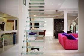 公寓装修 400平loft风色彩混搭