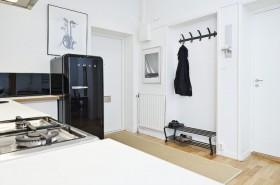 北欧白领公寓设计 玄关装修效果图82