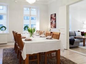 100平餐厅餐桌装修效果图