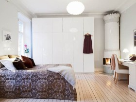 100平欧式卧室装修效果图